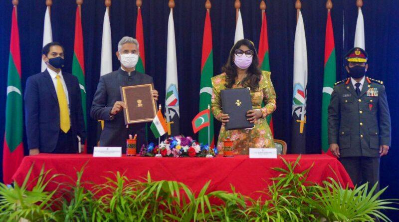 Indie a Maledivy posílily spolupráci na poli bezpečnosti