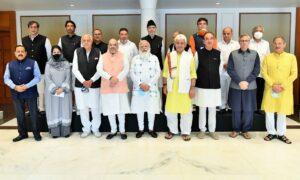 modi Kashmir delegation