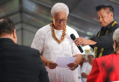 Po několikaměsíční ústavní krizi má Samoa svou první premiérku